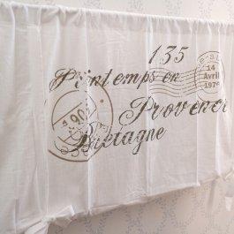 gardsromantik.se Julstrumpa linne franskt tryck Jeanne