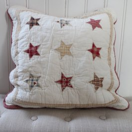 shabby chic kuddfodra l ipatchwork farmstyle
